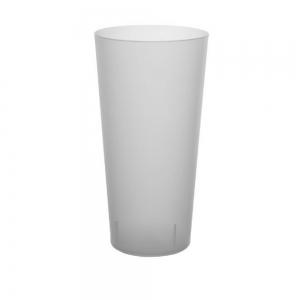Pinte réutilisable givré incassable économique cup-60