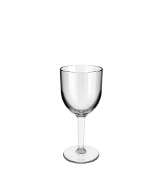 Verre à vin réutilisable incassable 22CL transparent
