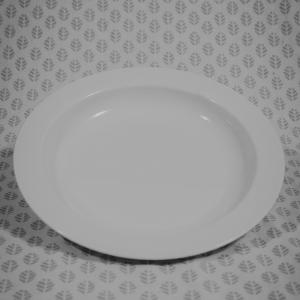 SOUP PLATE WHITE