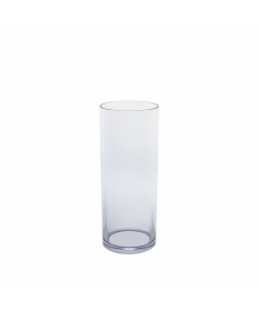 Tube incassable réutilisable  long drink  30cl