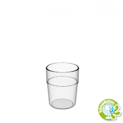 WATER TUMBLER 20CL CLEAR