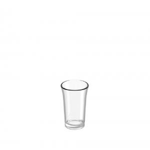 Verres shooter en plastique réutilisable incassable 3cl