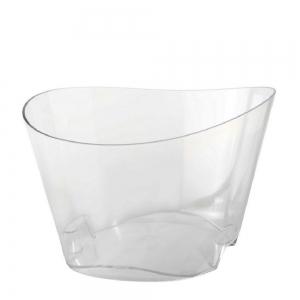 vasque à champagne réutilisable transparent