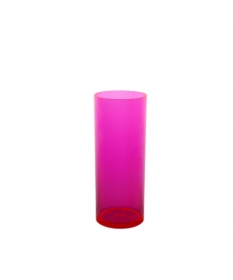 HIGHBALL GLASS 30CL ROSE FLUO