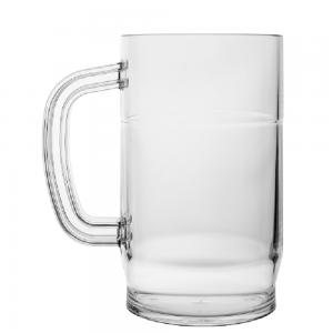 BEER MUG 1L CLEAR