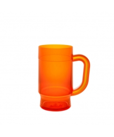 BEER MUG 50 CL IRIS BLUE