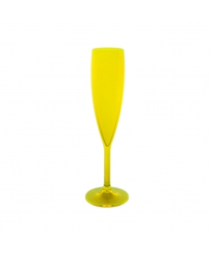CHAMPAGNE FLUTE 9CL FLUO GREEN