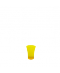 SHOT GLASS 4CL FLUO YELLOW