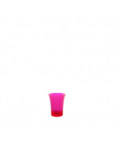 SHOT GLASS 2,5CL FLUO ROSE