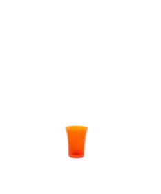 SHOT GLASS 2,5CL FLUO ORANGE
