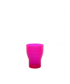 WATER TUMBLER 20CL FLUO ROSE