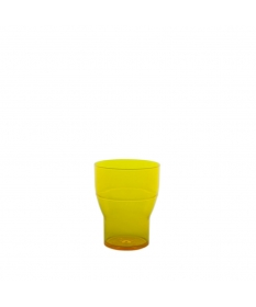 WATER TUMBLER 20CL FLUO YELLOW