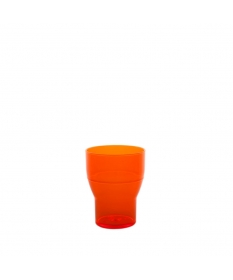WATER TUMBLER 20CL FLUO ORANGE