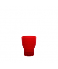 WATER TUMBLER 20CL NOVO RED