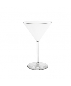 Verre plastique incassable MARTINI 25CL TRANSPARENT