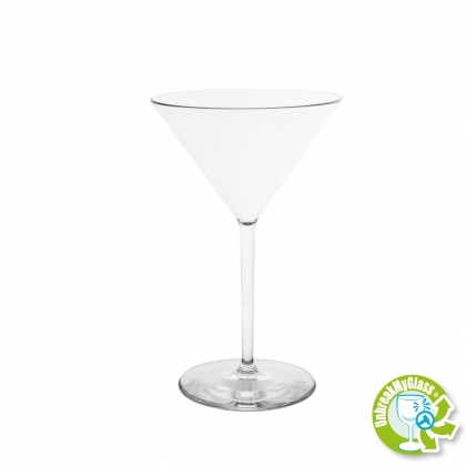 MARTINI COCKTAIL GLASS 25CL  CLEAR