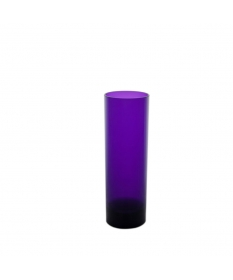VERRE INCASSABLE TUBE 20CL VIOLET MINUIT
